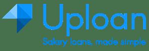 Uploan logo with tagline